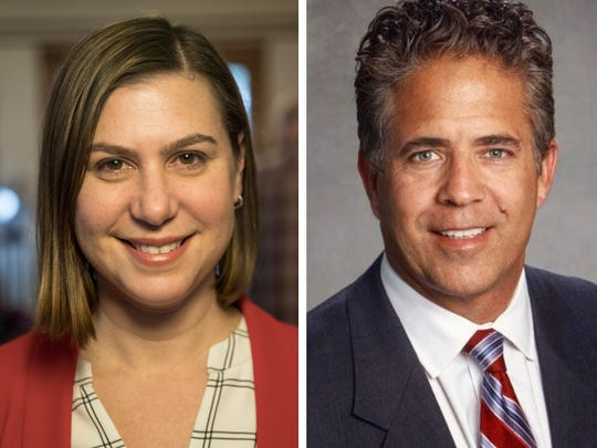 Elissa Slotkin is running against incumbent U.S. Rep. Mike Bishop for Michigan's 8th Congressional seat.