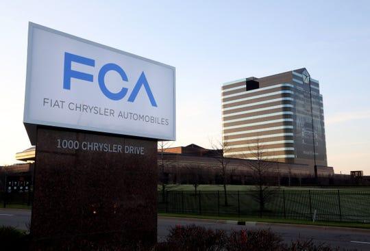 Fiat Chrysler Automobiles headquarters, located in Auburn Hills.