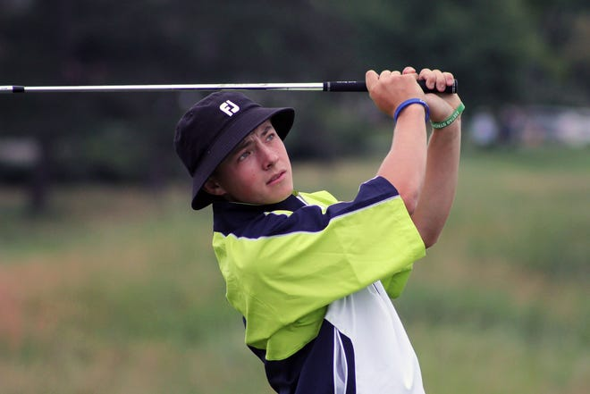 James Piot of Canton and Michigan State finished 10-under 203 to win the GAM championship Tuesday at Meadowbrook Country Club.