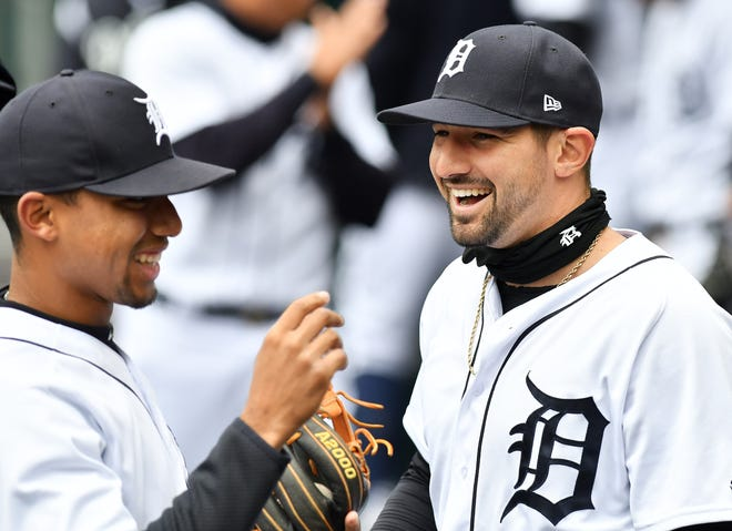 Nick Castellanos, right, will be among the Tigers signing autographs to help raise money for Jack's Place.