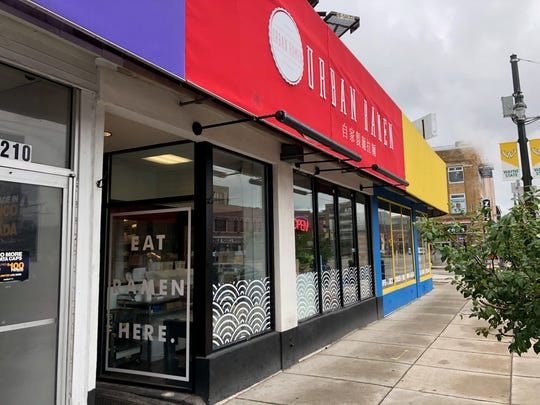 Urban Ramen opened this summer on Woodward in Detroit. There is another location in Los Angeles.