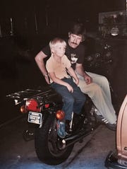 His dad Bernie would give Dan Kosmowski  rides on his motorcycle when he was 6 or 7.