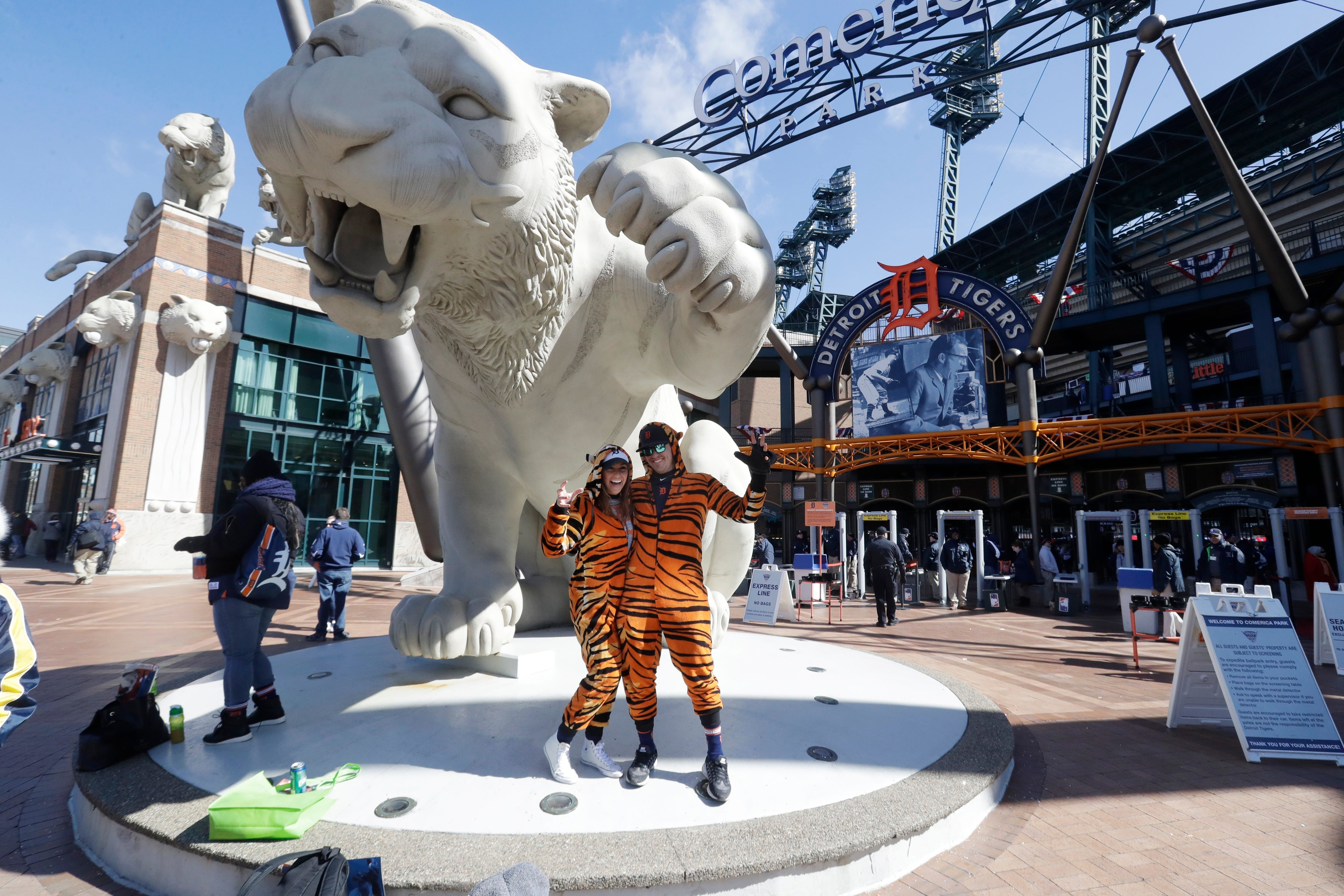 picture regarding Kc Royals Printable Schedule identify Extensive Detroit Tigers 2019 program: Household opener is April