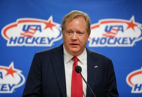 Longtime Team USA Hockey executive Jim Johannson died unexpectedly in January.