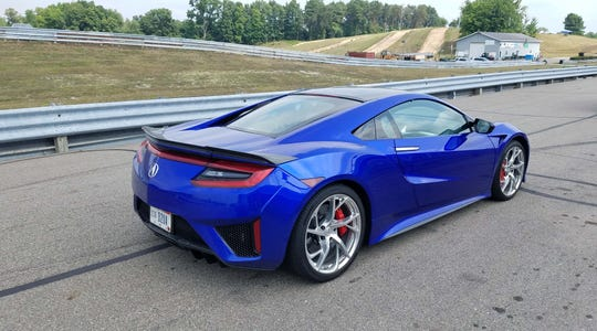 The 2017 Acura NSX is the second generation of the Acura supercar. With an AWD, electric-hybrid, turbo-V6 powertrain and dual-clutch, nine-speed transmission, it is the most sophisticated car that Honda Motor Company has built.