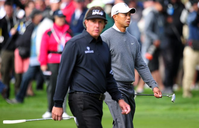 Phil Mickelson and Tiger Woods will square off in a match on Thanksgiving weekend with the winner receiving $9 million.