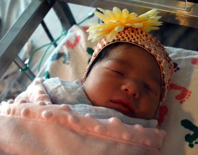 Luciana Castillo, born 8/18/2018