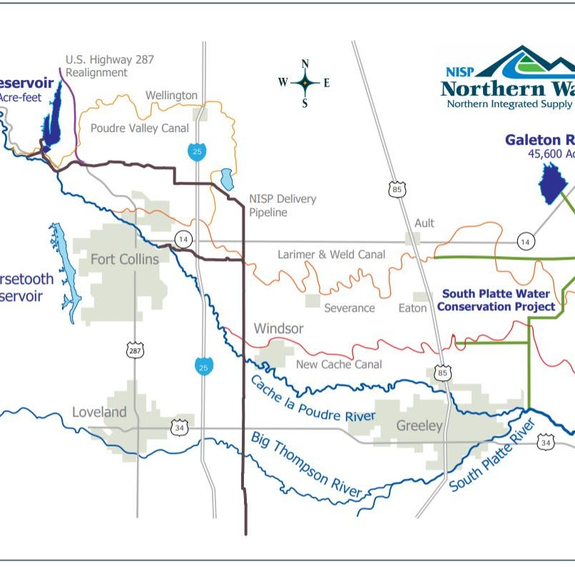What to know about the NISP pipeline proposed by Northern Water