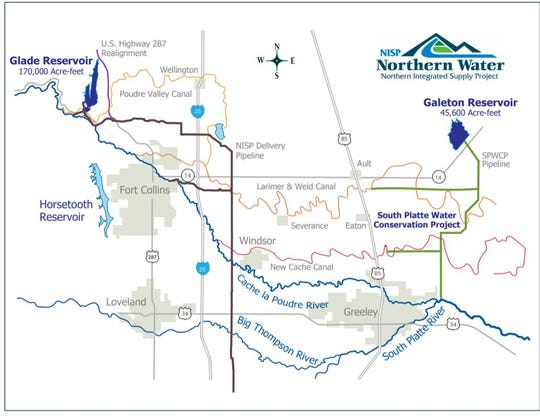 Overall plan for the Northern Integrated Supply Project.