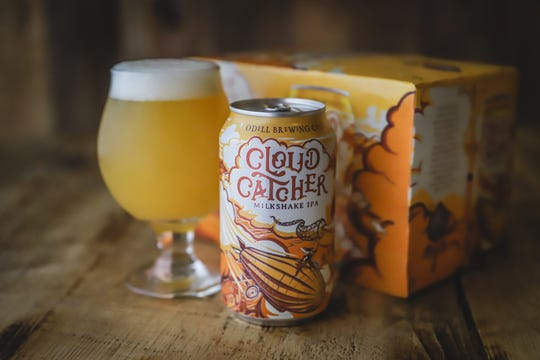 Cloud Catcher is a new hazy Milkshake IPA made by Odell Brewing.