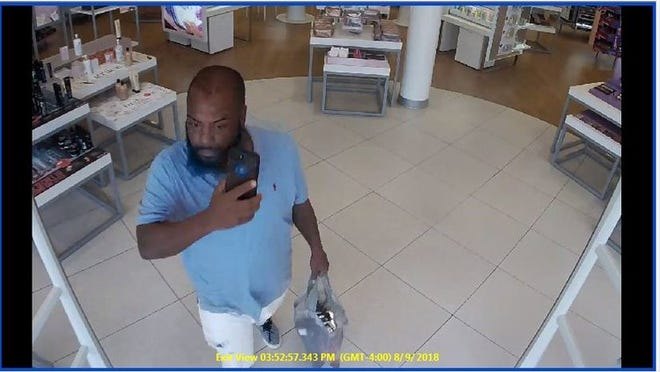 This is one of two suspects in a the theft of $600 worth of beauty supplies on Aug. 9 at Ulta Beauty in Cape Coral.