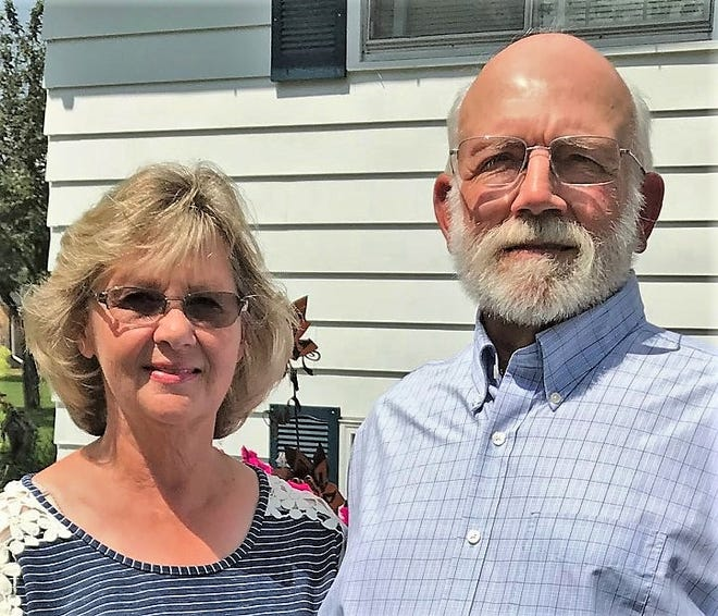 Diane and Craig LeFebre were selected as marshals of the Lena Dairyfest Parade on Saturday, Sept. 8.