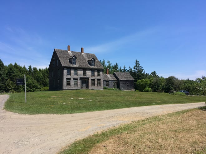"""The Olson house was the backdrop for Andrew Wyeth's iconic painting, """"Christina's World."""""""