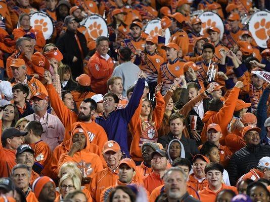 Clemson fans will be subject to metal detectors at Memorial Stadium this season.