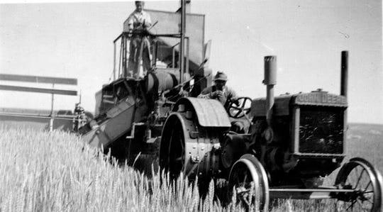 Farming has come a long ways on the Pfeifle Farm, which began 103 years ago with a homestead near Power.