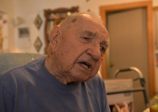 Ed Bucko, who turned 104 years old recently, describes the checker-chess hybrid game he invent in the 60's called King Check.