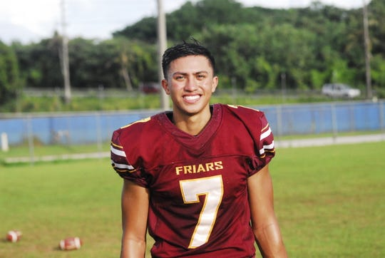 Brian Anderson, Father Duenas Friars football 2018