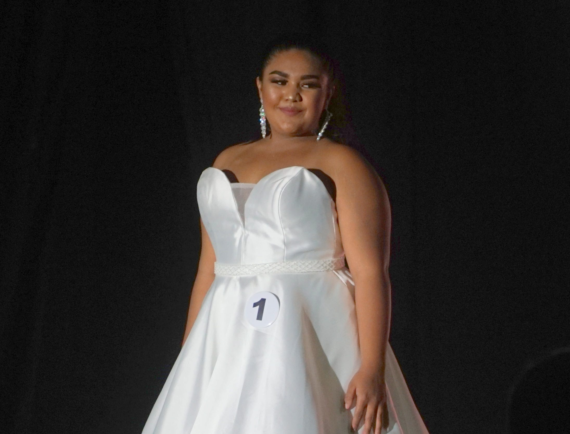 The evening gown portion of the Miss Universe Guam pageant at the Sheraton Laguna Guam Resort on Aug. 15, 2018.
