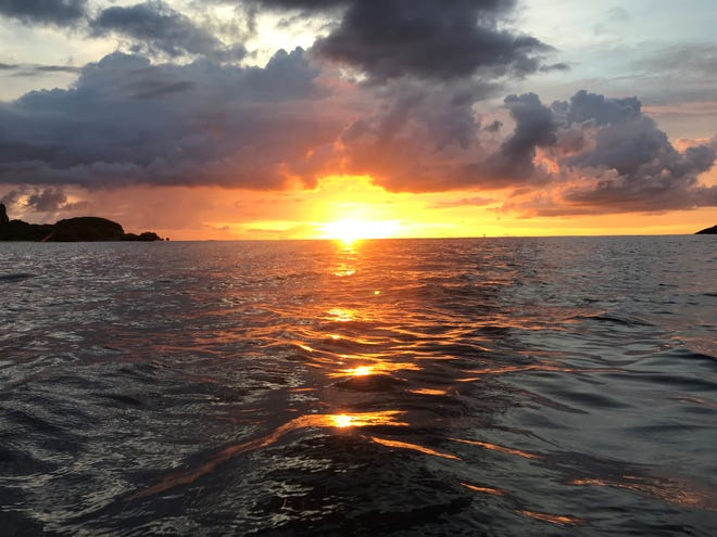 Photo of the week winner Joven Villagomez shared this photo of a sunset on Guam.