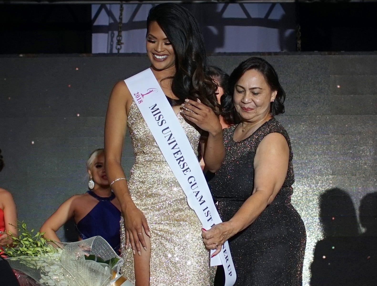 Miss Universe Guam 2018 first runner up Keshia Llarenas. The Miss Universe Guam Pageant was held at Sheraton Laguna Guam Resort.