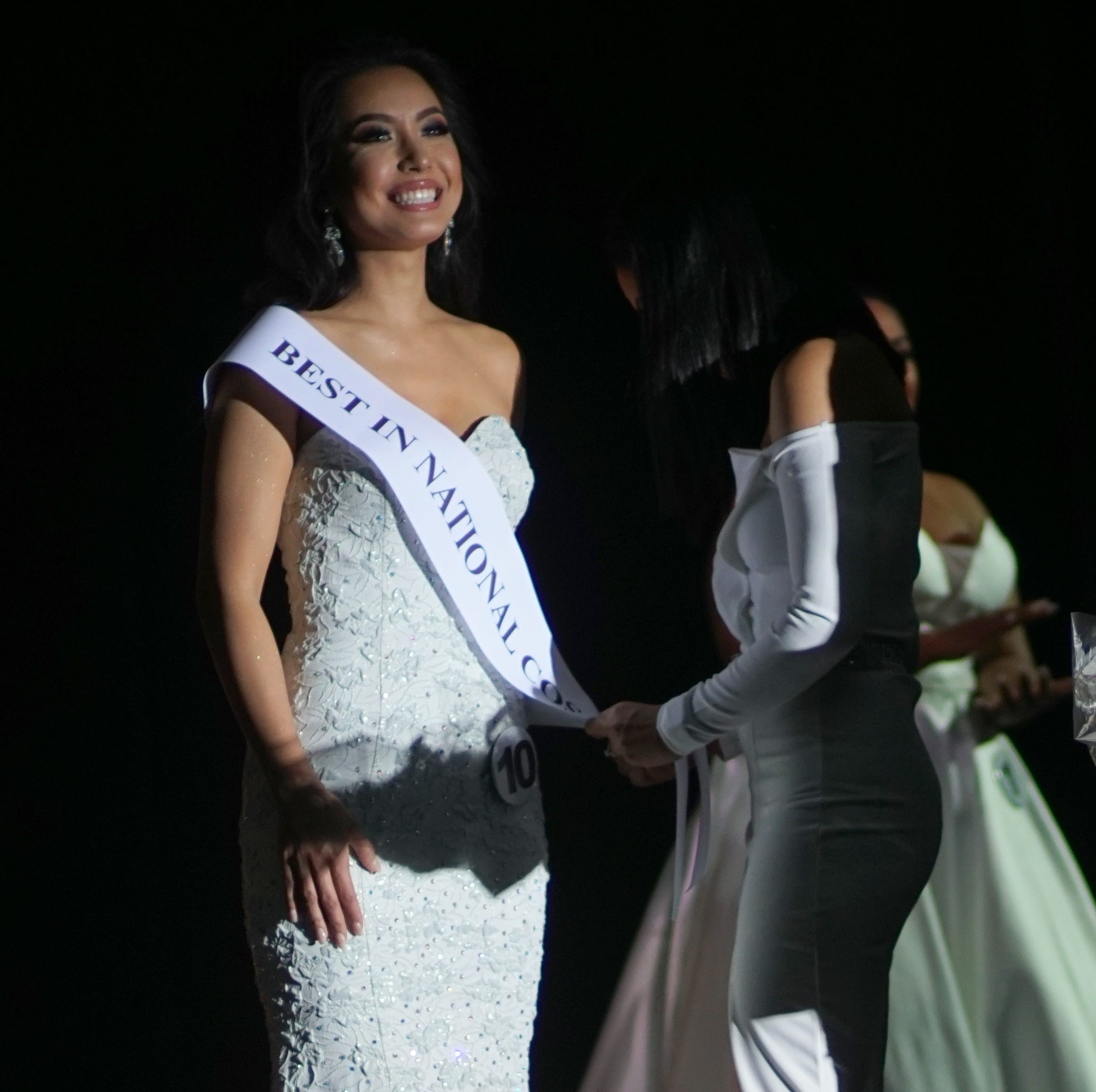 Miss International Guam Kirsten Dahilig takes a stand against sexual abuse