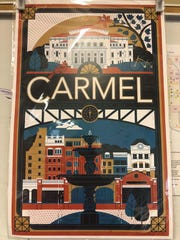 Lucie Rice created this poster of Carmel