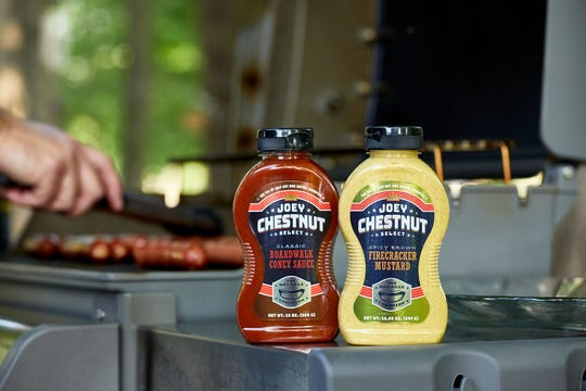 Joey Chestnut's Boardwalk Coney Sauce and Firecracker Mustard