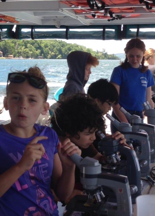 Discover Cayuga Lake microscopes