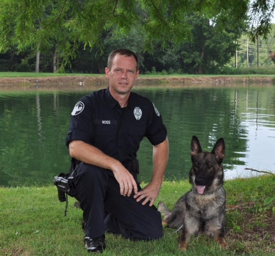 Jackson Police Department acknowledges death of K9 officer