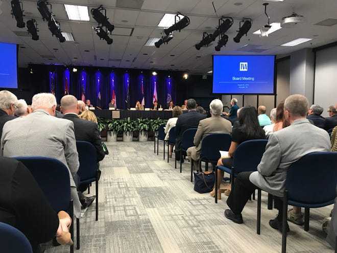 The Tennessee Valley Authority Board of Directors met Aug. 22, 2018, in Knoxville to pass a 1.5 percent rate hike and approve their budget for fiscal 2019.