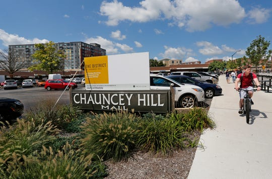Chauncey Hill Mall Wednesday, August 22, 2018, in West Lafayette. A mixed-use development called The District at Chauncey Hill is slated to replace Chauncey Hill Mall.