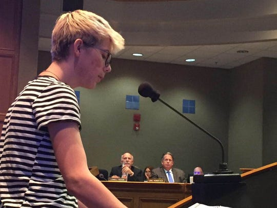 Connor Quibedeaux, a UL sociology student, urged the council to allow the library to host a drag queen story time to show children it is OK to be themselves.