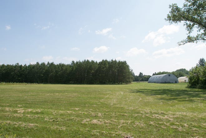 Property on the east side of Chilson Road north of Bishop Lake Road, part of Brighton Recreation Area, shown Wednesday, Aug. 22, 2018 will be leased to a Canadian company to grow seedlings.