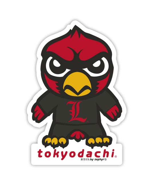 Tokyodachi Cardinal Bird The New University Of Louisville Logo