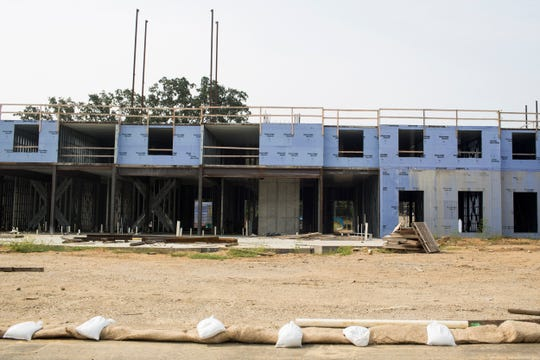 Developers have chosen local builder Montgomery Martin Contractors to continue building hotels at TraVure, a multipurpose development in Germantown's western gateway. The hotels are scheduled to open by mid-2019.