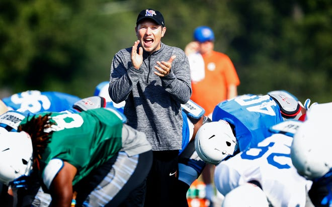 Former Memphis offensive coordinator Kenny Dillingham will take the same position at Auburn.
