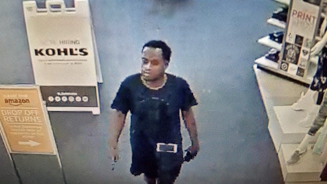 Menomonee Falls Police are searching for this man, who they say used counterfeit bills at Kohl's.