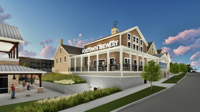 The Fox Tale Brewery will anchor the $50 million Foxtown development that includes restaurants, retail and housing.