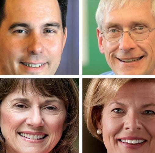Marquette poll shows Scott Walker and Tony Evers in toss-up for governor while Tammy Baldwin holds lead over Leah Vukmir in Senate race