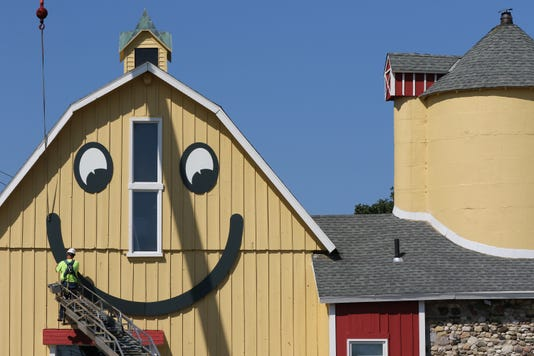 Smile Returns To The Barn