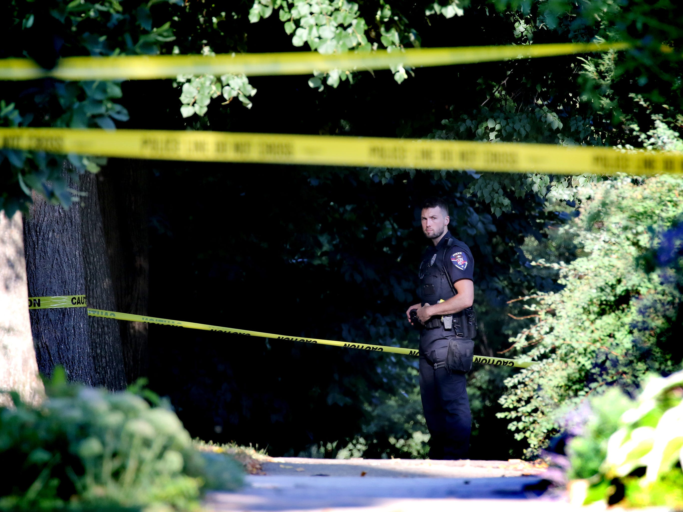 Crime scene investigators respond to a home in the 7900 block of Warren Avenue in Wauwatosa following reports of shots fired on Aug. 22. The Milwaukee County Medical Examiner was notified.