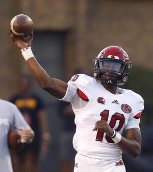 Jacksonville State quarterback Zion Webb