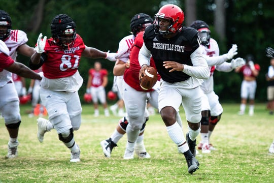 Jacksonville State quarterback Zerrick Cooper