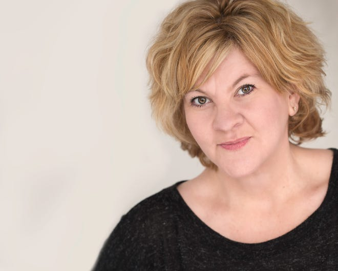 Teri Adams plays the Iowa Housewife in Menopause The Musical.