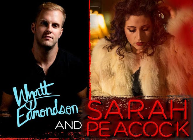 Wyatt Edmondson and Sarah Peacock will perform at The Sanctuary in Montgomery on Sunday.