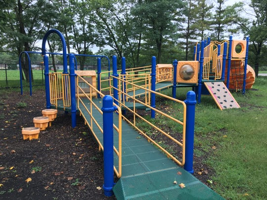 Playground equipment at Storer Elementary School will be moved to Grissom Elementary School.