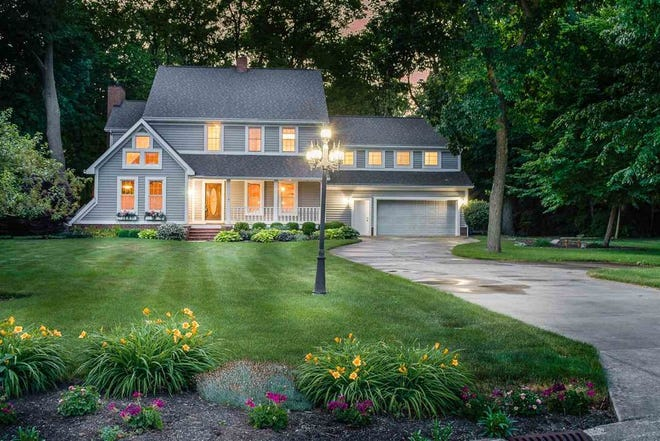 This home at 309 N. Crosscreek Drive includes four bedrooms, four bathrooms and almost 5,000 square feet of space.