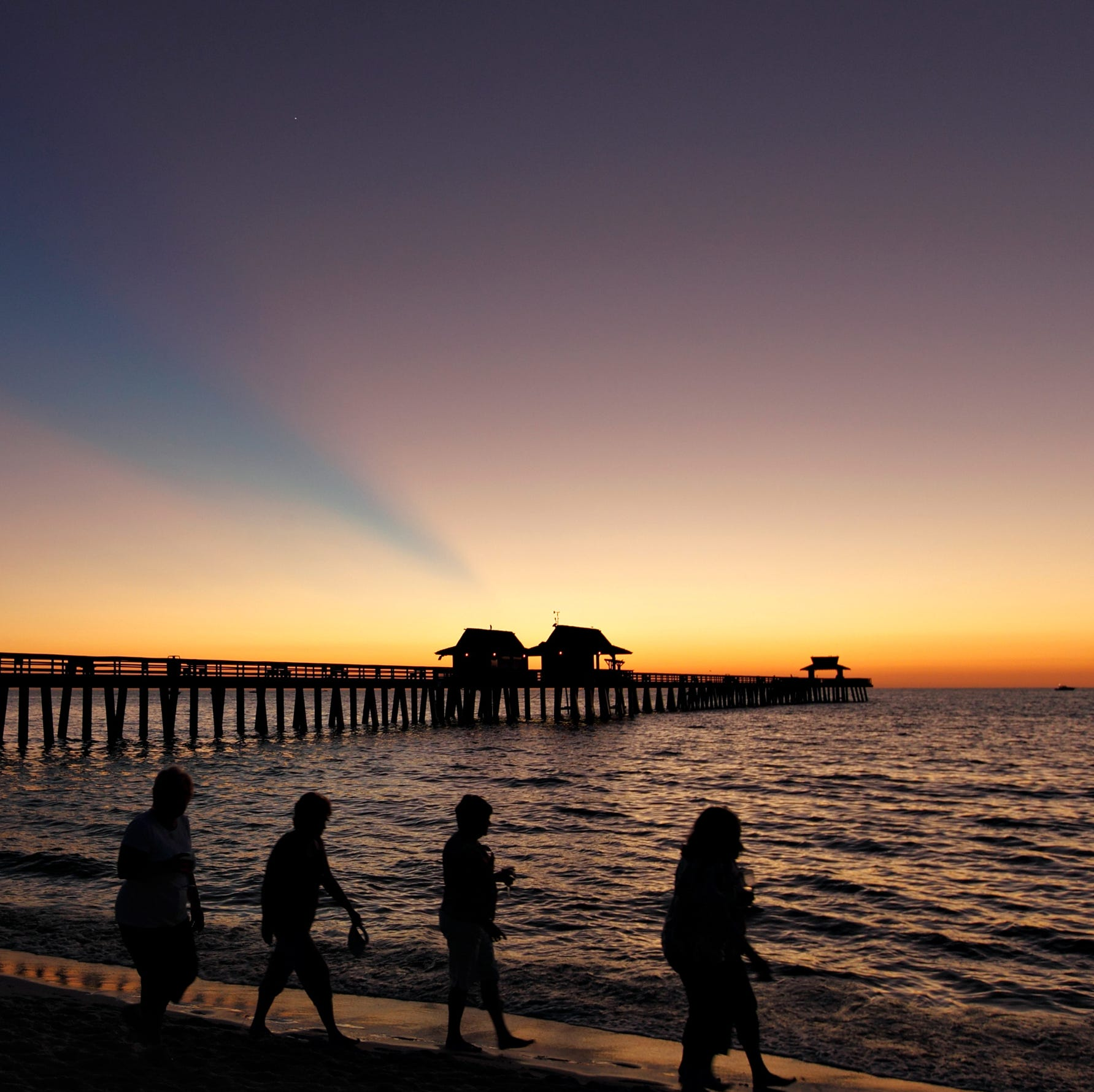 Naples ranked No. 1 place to retire in the country, study shows