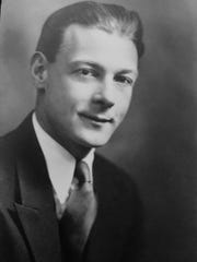 Francis B. Smith during his college years.