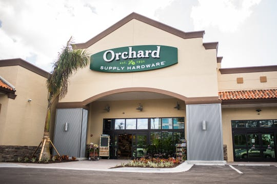 Orchard Supply Hardware's new store in Naples is seen on Feb. 27, 2017. Orchard Supply Hardware, an American retailer of home improvement and gardening products with two locations in the Naples area, is closing all its stores.